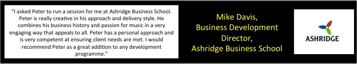 Reference from Ashridge Business School