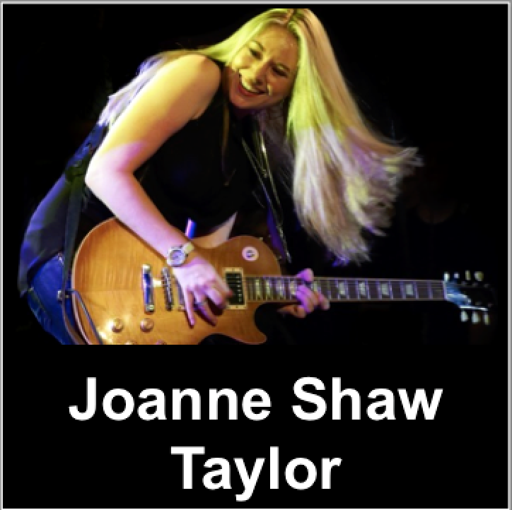 Joanne Shaw Taylor interview, Blues, Eurythmics
