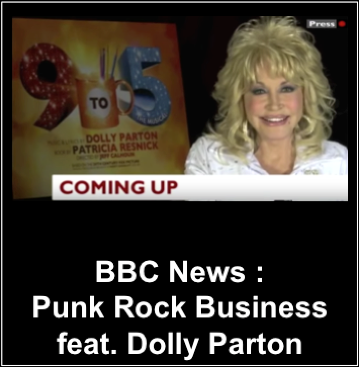 BBC TV interview, Punk Rock HR, The Clash, Lou Reed, Ian Dury