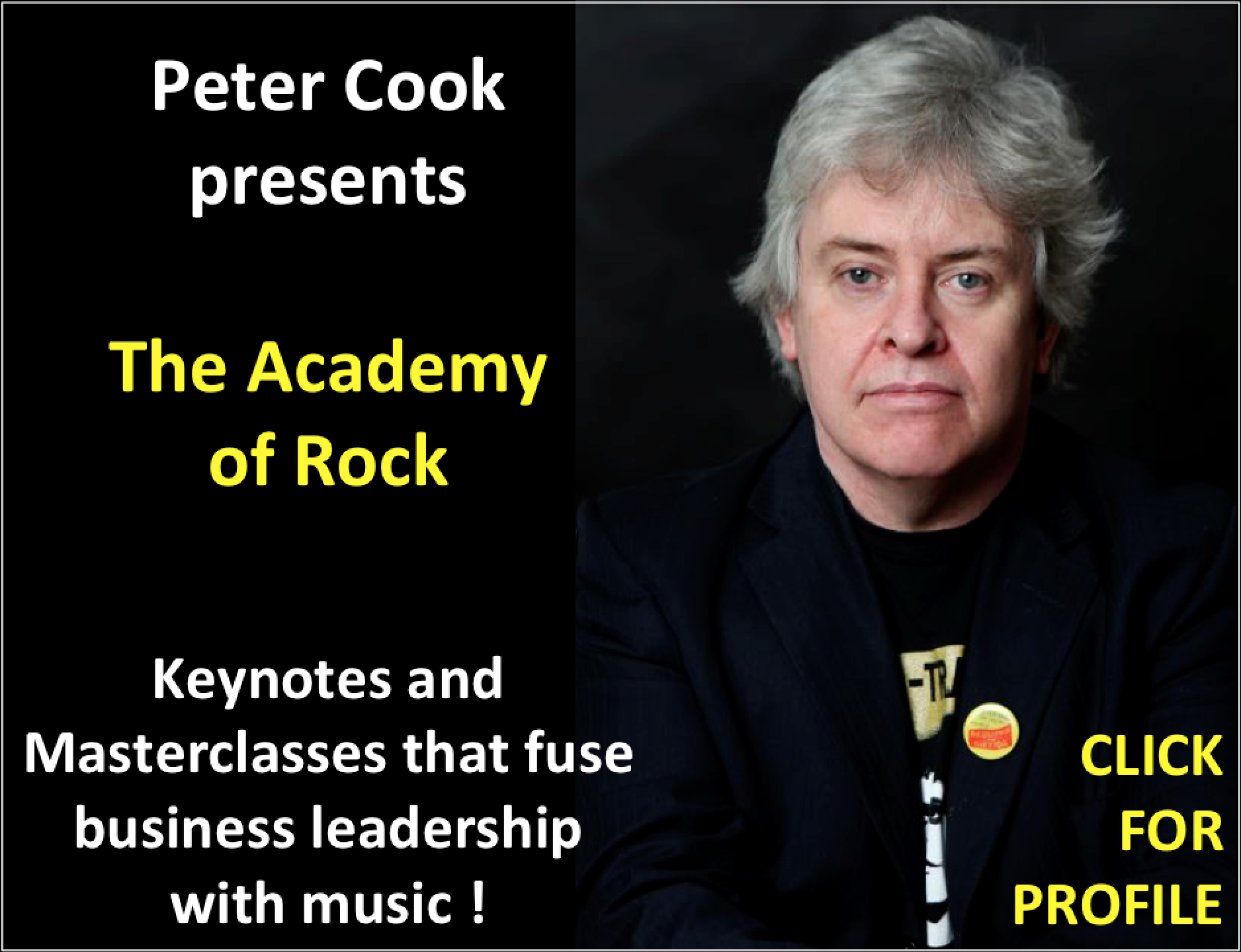 Peter Cook's Profile