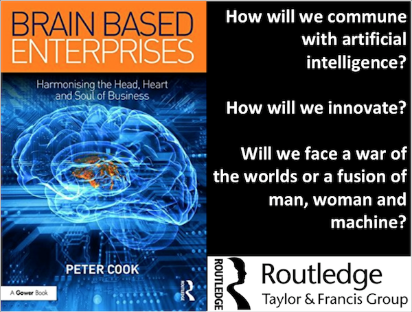 Routledge, books, Brain Based Enterprise, Peter Cook